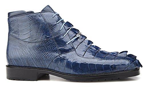 - Belvedere Barone Genuine Hornback and Genuine Ostrich Boot 9