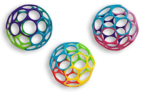 Oball Toy Ball, Multicolored, Assorted by Oball (Image #1)
