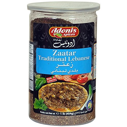 Adonis - Zaatar Traditional Lebanese Thyme Seasoning (1 Lb) 454g by Adonis Spices