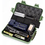 Exclusive G700 X800 LED Zoom Military Grade Tactical Flashlight Torch,Ninasill Hot Fashion Battery Charger+Handheld Strap+Box