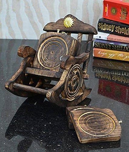 Superb Amazon Com Crafticia Wooden Miniature Rocking Chair Tea Camellatalisay Diy Chair Ideas Camellatalisaycom