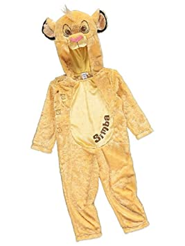 d3545cc72 George Disney Lion King Simba Hooded Fancy Dress Outfit Costume World Book  Day (2-