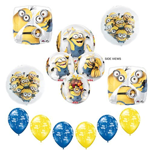 New! Despicable Me Minions ORBZ Birthday Party Supplies