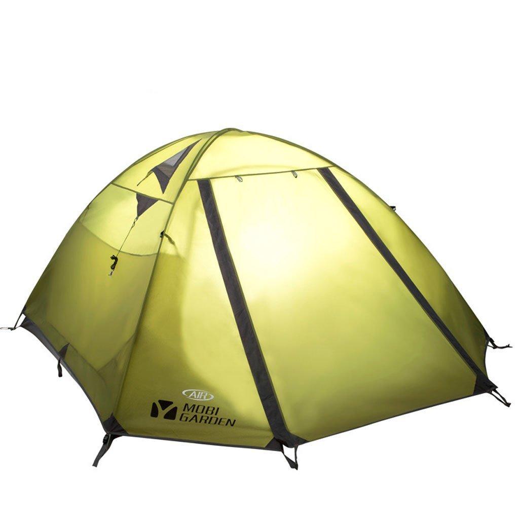 Bergsteigen Zelt Outdoor-Camping-Ausrüstung Camping-Zelt warmen regen Zelt 3-4 Doppel drei Viertel der Personen Zelt Camping