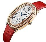 RUIWATCHWORLD Women Fashion Quartz Watch Luxury Crystal Sparkling Glasses for Ladies Cheap Watches on Sale