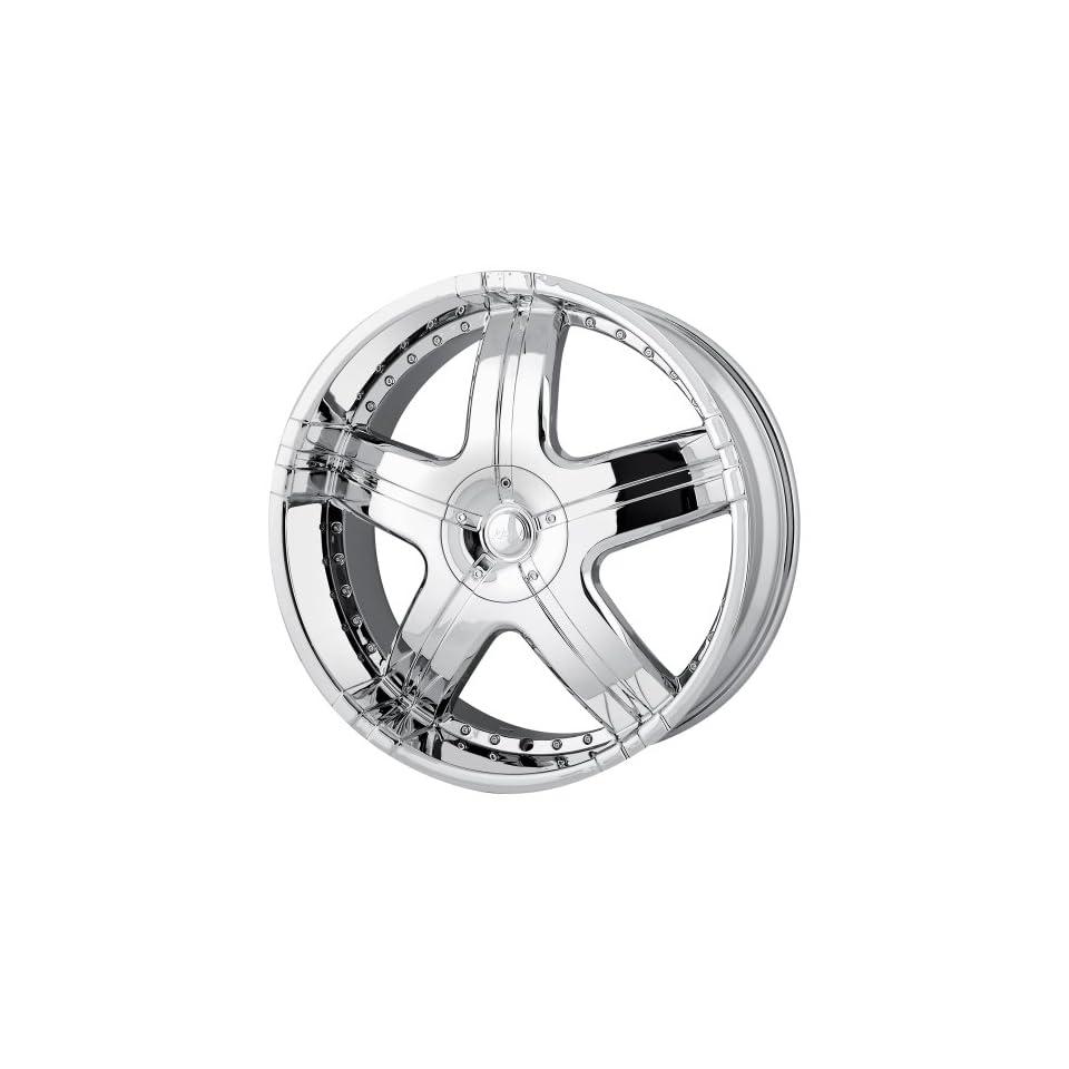 24x9.5 MPW Style MP206 (Chrome) Wheels/Rims 6x139.7 (MP206 24984C)