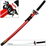 Anime Katana Replica Saya C Sacred Ultra Blood Red Sword Fang