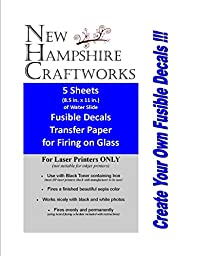 New Hampshire Craftworks Image Art Transfer Paper - 5 Five 8.5\