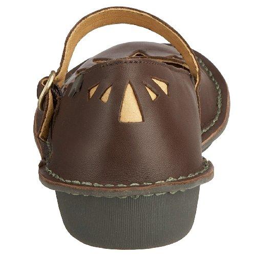 cuero Zapatos con de Camper Marrón para hebilla mujer Z61IAxqBw
