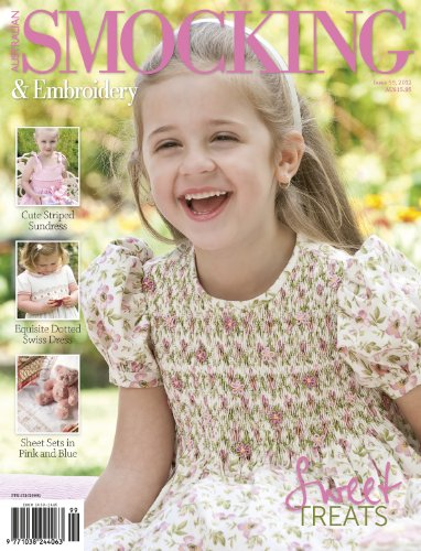 (Australian Smocking and Embroidery magazine issue 99)