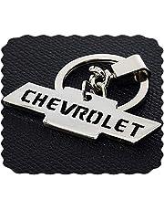 ميدالية مفاتيح سيارة شيفرولية من الفولاذ المقاوم للصدأ