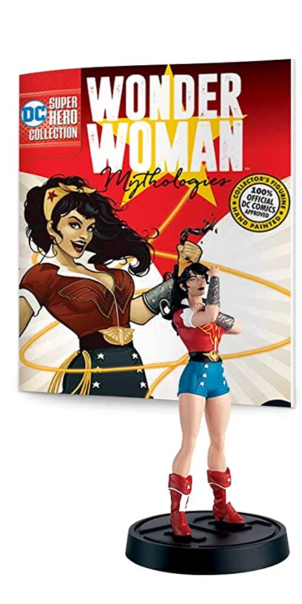 Amazon.com: Eaglemoss DC Super Hero Collection: Wonder Woman ...