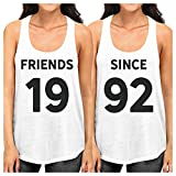 Best 365 Printing Friend Matching Gifts - 365 Printing Friends Since Black Matching Tank Tops Review