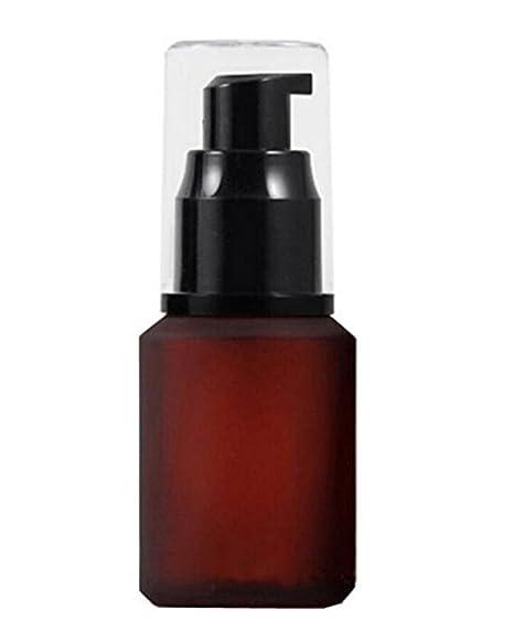 Elegante frasco dispensador de vidrio de Ericotry, una unidad de 60 ml, se vende
