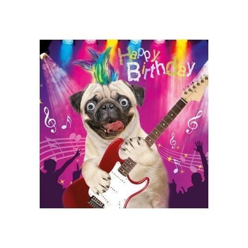 Funny Jack Russell Bad Dog Mug Shot Birthday Card Cp1136 Wee Blue