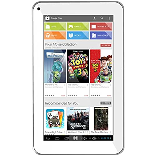 Azpen A720 7-Inch 8 GB Tablet (White) Coupons