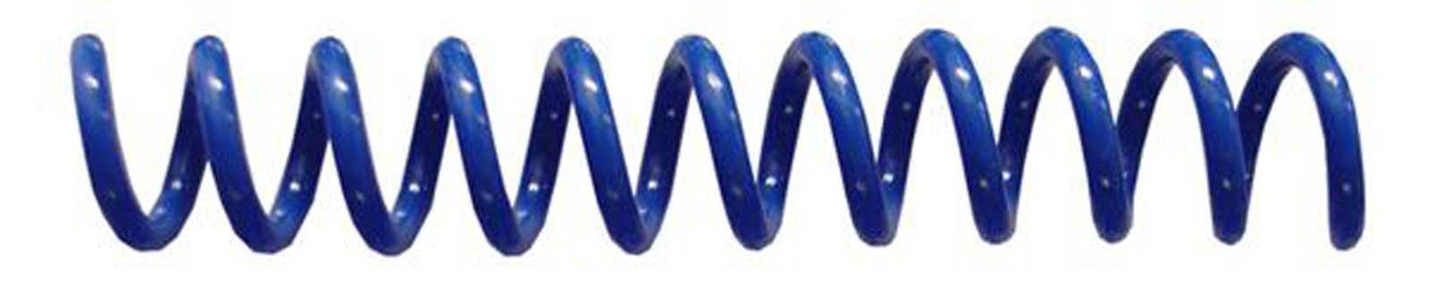 Spiral Binding Coils 6mm (¼ x 12) 4:1 [pk of