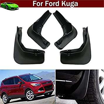 4 guardabarros de guardabarros para Kuga 2013 2014 2015 2016 2017 2018: Amazon.es: Coche y moto