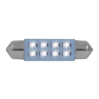 Grand General 77154 211-2 White 8-LED Festoon Dome Light Bulbs, 12V, 1 Pack: Automotive