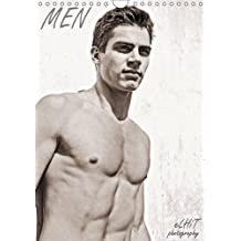 MEN by eLHiT photography 2016: shirtless males, monthly calendar, 14 pages