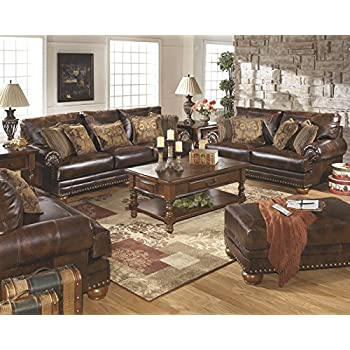 Amazon Com Signature Design By Ashley 5040438 Banner Sofa