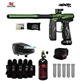 Empire Axe 2.0 Paintball Gun & Accessory Combo Package - Dust Black / Dust Green