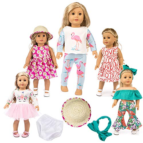 American Girl Doll Accessories and Clothes 18 Inch Doll Clothes Pajamas Unicorn Sets american girl doll clothes 18 Inch dolls american girl clothes ,My Life Doll Clothes Baby Journey Girl Accessories -