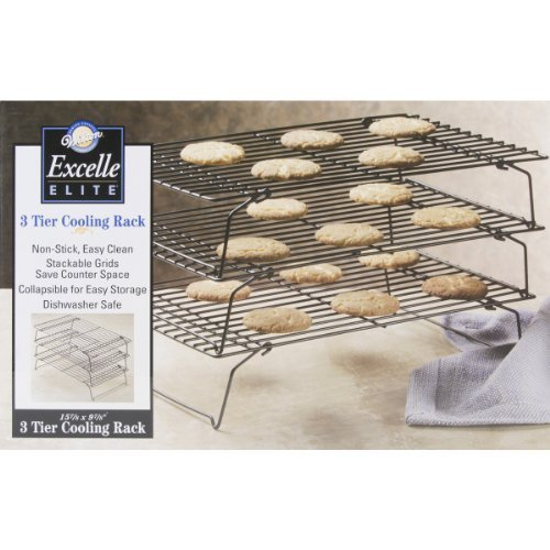 Wilton 2105-459 Excelle Elite 3-Tier Cooling Rack, 15 7/8 inch X 9 7/8 inch