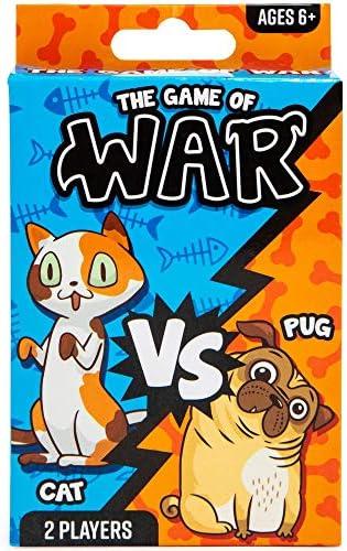 Juego De Cartas De Juego De Guerra Para Niños Y Niñas De Cat Vs Pug Toys Games