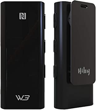 iOS NFC Pairing AK4377 DAC+amp Chip Type-C Port and 3.5MM Out PC Blue HiBy W3 HiFi Bluetooth 5.0 Headphone Amplifier//USB DAC with UAT//aptX//aptX HD//aptX LL//LDAC//AAC//SBC for Android MAC