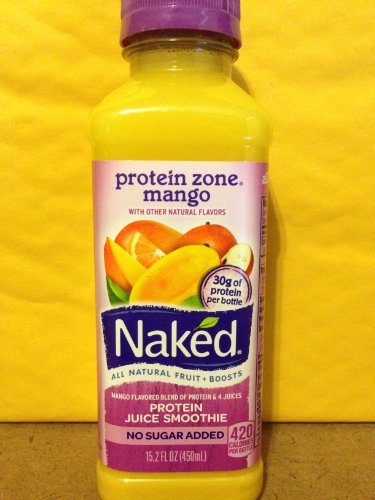 Naked Protein Zone Mango 15.2 oz (5 Pack)