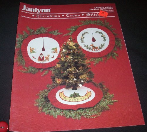 Janlynn Christmas Cross Stitch - Holiday Traditions (Leaflet #109-01) ()