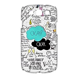 Custom Your Own Funny Okay The Fault in Our Stars- John Green 3D SamSung Galaxy S3 19300 Best Design Plastic Case by runtopwell