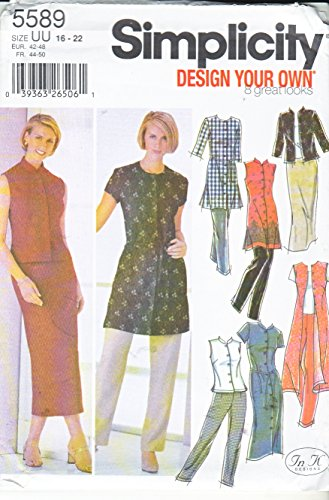 Simplicity 5589 Sewing Pattern Figure