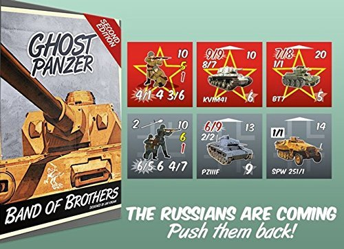 WOG: Ghost Panzer Remastered [2nd] Edition Boardgame
