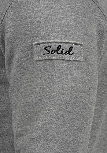 Grey Avec Pour Fermeture Tape shirt Sweat En Doublure Sweat Homme Éclair Trip Zippé Veste Capuche Polaire À 8236 Zip solid Melange xpw1PUZq