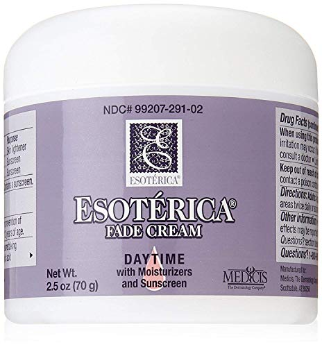 Esoterica Fade Cream Daytime with Moisturizers and Sunscreen, One 2.5 Ounce Jar, Works to Rejuvenate and Replenish your Skin ()
