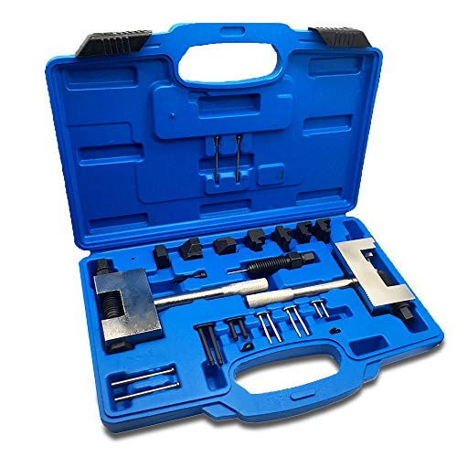 Elf Bee Engine Timing Chain Removal Installer Breaker Assembly Tools Kit Riveting Tool Double Camshaft Disassembler for Mercedes Benz M271 M272 M273