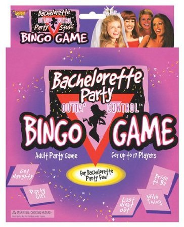 Bachelorette Party Bingo Gane by Sh-yolada