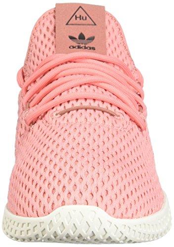 Adidas Kids Pharrell Williams Scarpe Da Tennis Rosa Grezzo / Bianco Corrente