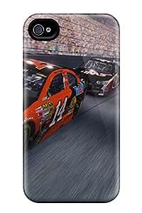 New Premium Flip Case Cover Nascar 2014 Skin Case For Iphone 4/4s
