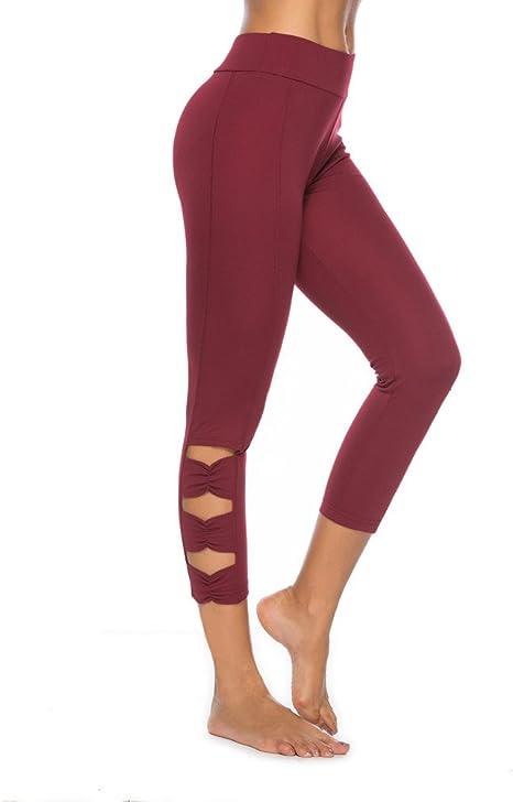 Pantalones de Yoga Harem Hip Hop Pantalón Polainas Largos Holgados ...