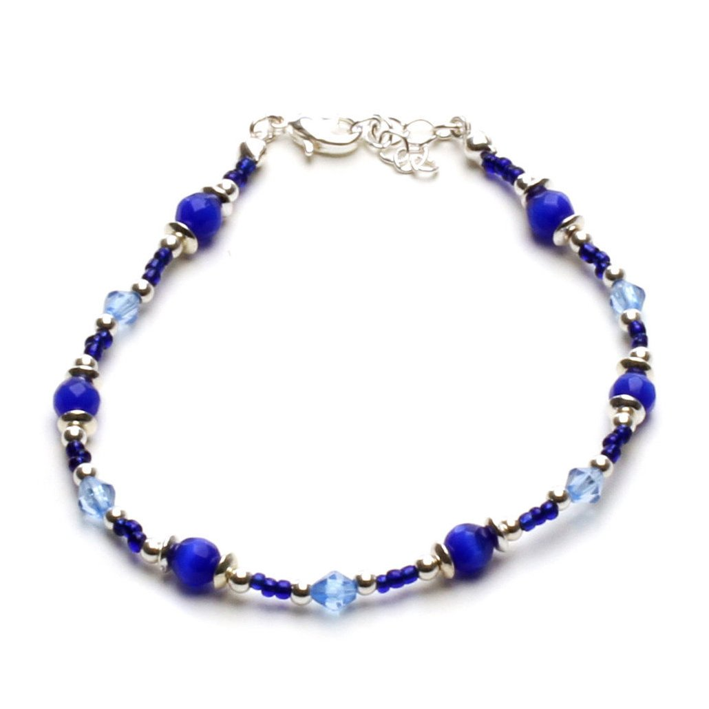 LookLove Cat's Eye Beads Anklet