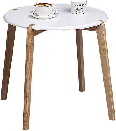 Round Table Moderne Side/Table Basse, Support de Cadre en ...