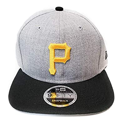 New Era Pittsburgh Pirates 9Fifty Gray Heather Action Adjustable Snapback Hat