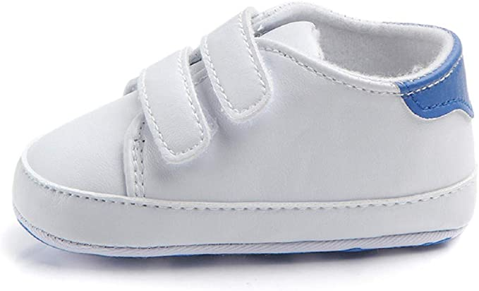Infant Sneaker FAPIZI Baby Lace-up Shoes Toddler Soft Sole Crib First Walkers Girls Kid Flats