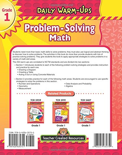 problem solving in math for grade 1