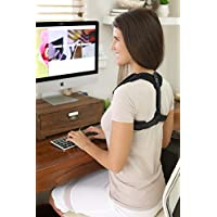 Posture Corrector For Women Under Clothes - Comfy light sling supports arms, brings shoulders back for large upright chest - Supports Postural bras of any size -Improve body image