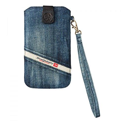 [해외]DIESEL (디젤) 스마트폰 데님 슬리브 케이스 XXL / DIESEL (diesel) Smartphone denim sleeve case XXL