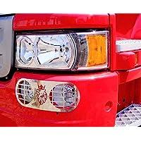 2piezas Griffin luces antiniebla guardias protectores de metal